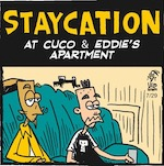 Thumbnail image for La Cucaracha: Cuco and Eddie's Summer Staycation (toon)