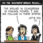 Thumbnail image for La Cucaracha: Teacher Vero considers forming her own 'squad' (toon)