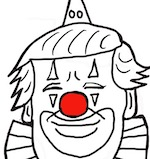 Thumbnail image for Trump in El Paso: Send in the clown (toon)