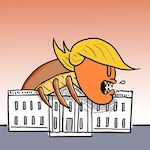 Thumbnail image for Got bedbugs? Get out and VOTE to get the infestation out! (toon)