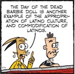 Thumbnail image for La Cucaracha: Who would buy a Day of the Dead Barbie? (toon)
