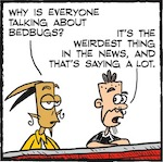 Thumbnail image for La Cucaracha: What's all this I hear about bedbugs? (toon)