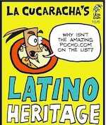 Thumbnail image for La Cucaracha's Latino Heritage Month: We're doing it online (toon)