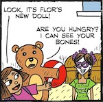 Thumbnail image for La Cucaracha: Are you ready for Day of the Dead Barbie? (toon)