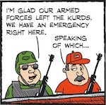 Thumbnail image for La Cucaracha: Adios, Kurds! There's a border emergency here (toon)