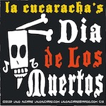 Thumbnail image for La Cucaracha: Feliz Taco Muerto Tuesday (toon)