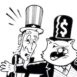 Thumbnail image for Your money — or their lives? (toon)