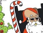 Thumbnail image for La Cucaracha: Here's my Christmas wish list, Rancho Claus (toon)