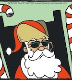 Thumbnail image for La Cucaracha: A naughty boy's request to Rancho Claus (toon)