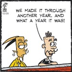 Thumbnail image for La Cucaracha: Hooray! We made it through 2019! (toon)