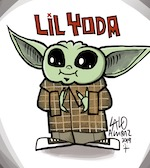 Thumbnail image for What does Lil Yoda say? (toon)